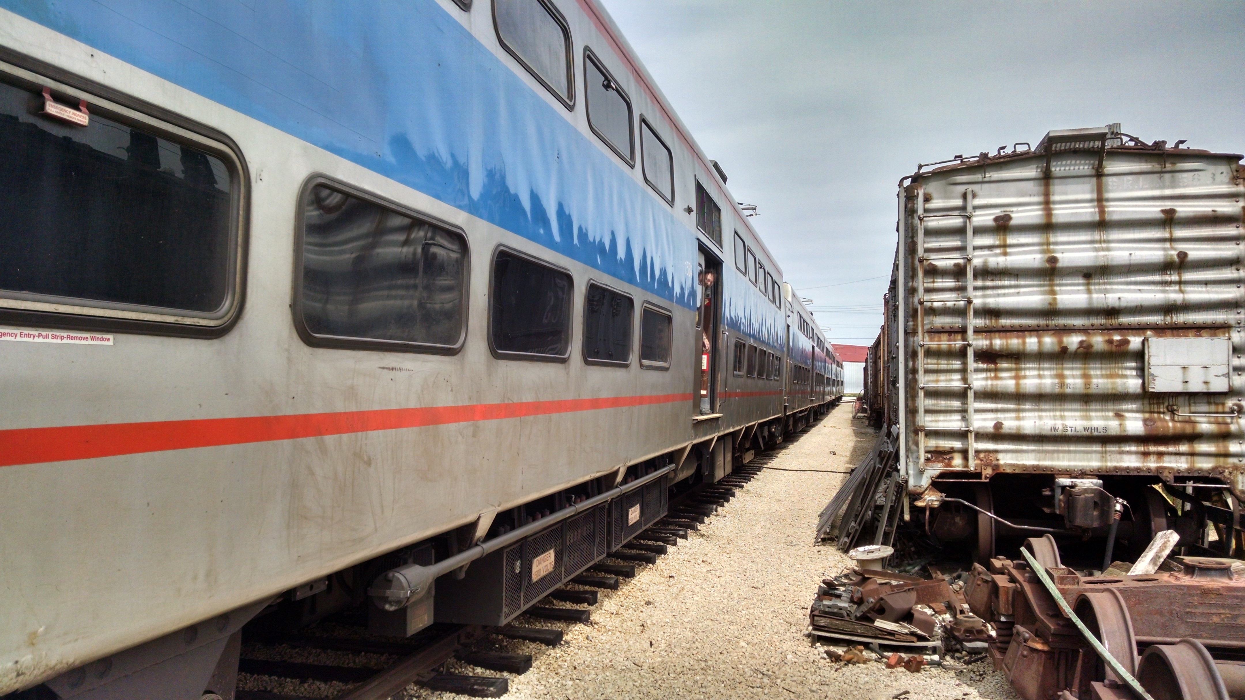 Highliners Arrive at IRM Metra muter Rail Chicago Transit Forum