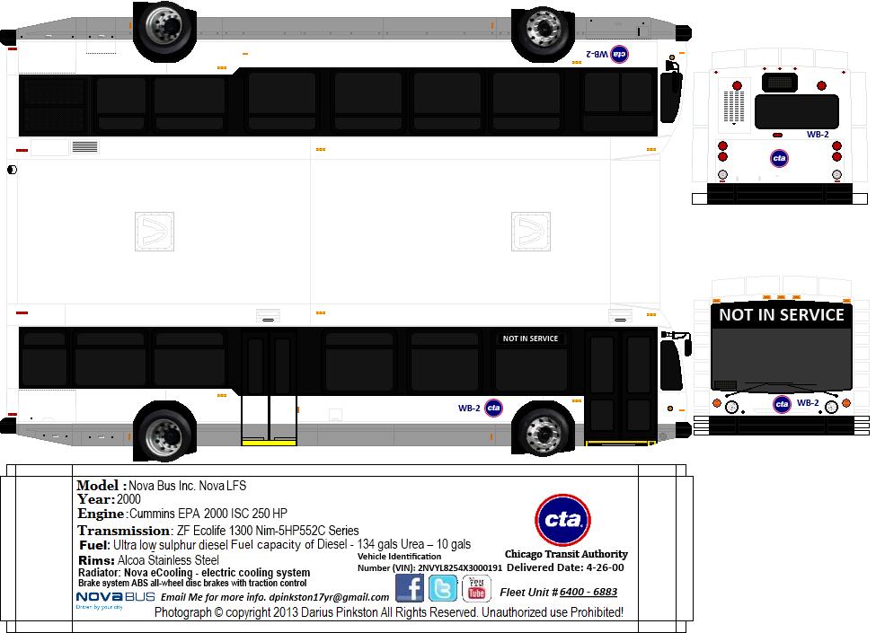 7900-series Nova LFS - Deliveries & Assignments - Page 114 - CTA Bus - Chicago Transit Forum