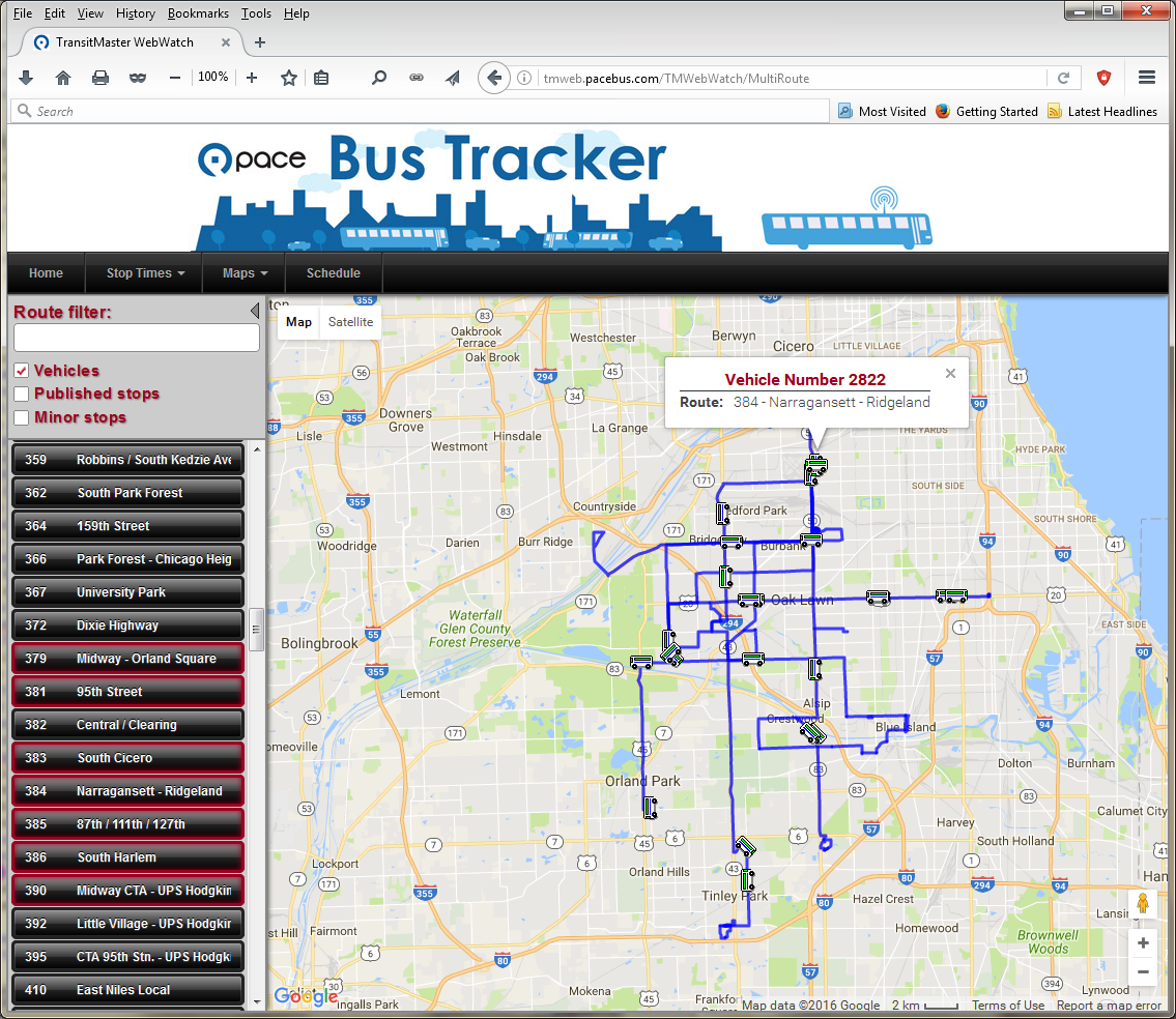 webwatch might be better - page 5 - pace suburban bus - chicago