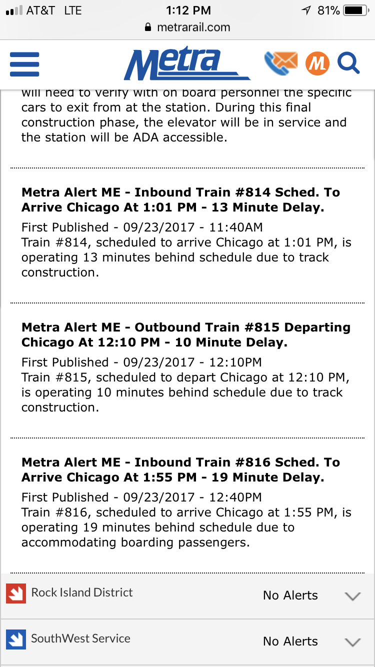 random metra - page 17 - metra commuter rail - chicago transit forum